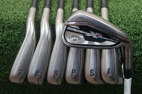 Golf New Callaway Xr Pro 5 Pw Iron Set Kbs Tour 90 Regular Flex Stee callaway xr graphite iron set senior flex irons 6 pw aw sw