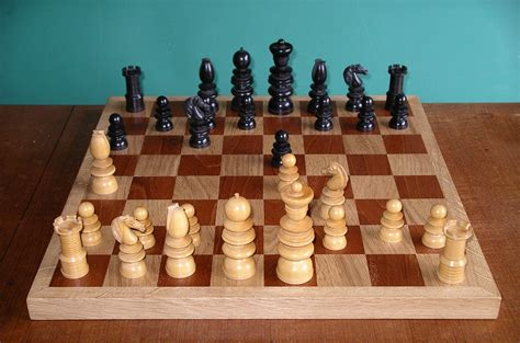 different types of chess pieces