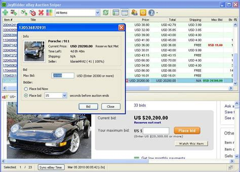 bid sniper free auction sniper software free