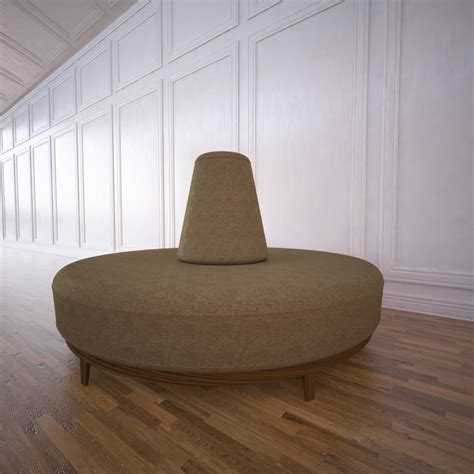 seating waiting area 3ds