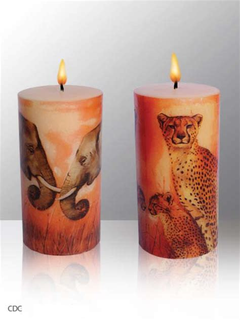 How To Decoupage A Candle - sculpted to decoupage candles