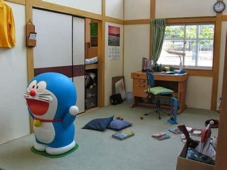 Meja Rias Doraemon desain kamar tidur anak perempuan doraemon unik dan lucu