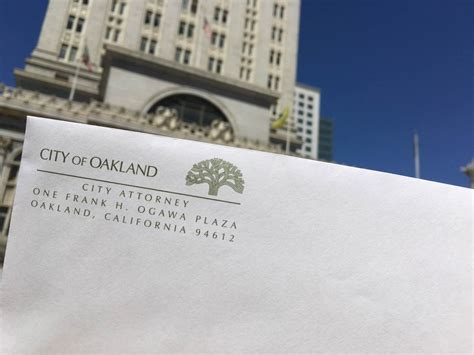 Oakland Town Office by Oakland City Attorney To Add Divisions To Office