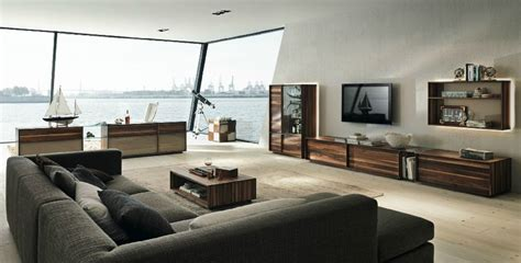 wohnzimmer grau braun gray brown living room interior design ideas
