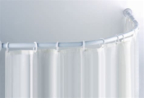 small curved shower curtain rod curved shower curtain rod walmart home design ideas