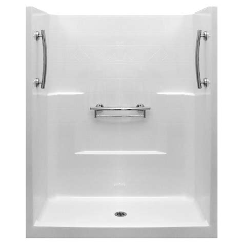 Shower Stall Products Dreamline Flex 32 In X 32 In X 74 75 In Framed Pivot