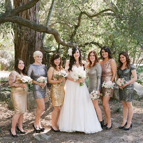 Sb Eledy Dress sparkly santa barbara wedding jeff green