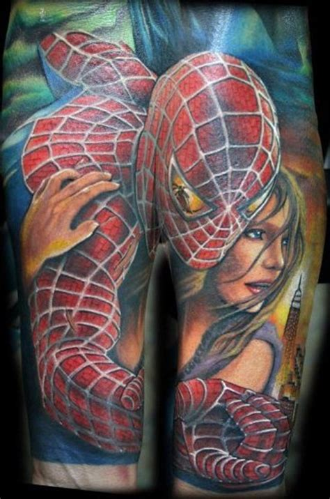 50 best free spiderman tattoo designs and ideas