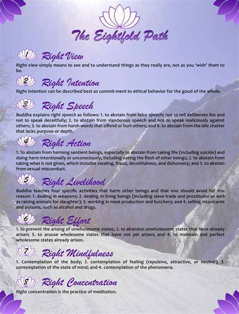 enlightened the eightfold path to health books global holistic motivators the eightfold path