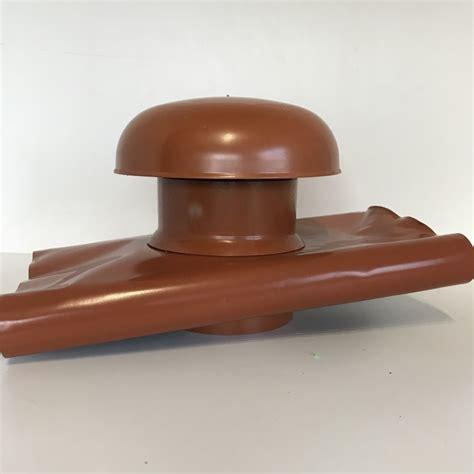 tuile chapeau de ventilation chapeau de ventilation avec bande de plomb d100 brun tuile