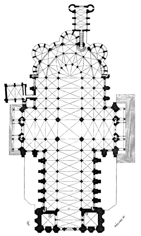 Chartres Cathedral Floor Plan by File Plan Cathedrale Chartres Png Wikimedia Commons