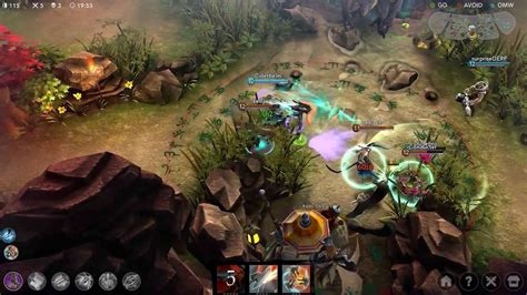 image artemis and soldier in multiplayer god of vainglory review pretty and pretty darn