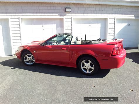 2004 ford mustang 40th anniversary edition specs 2004 ford mustang convertible 40th anniversary edition