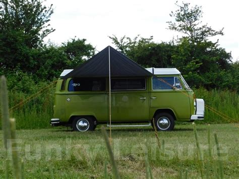 vw t2 awning vw type 2 t25 cervan sun canopy awning azure blue