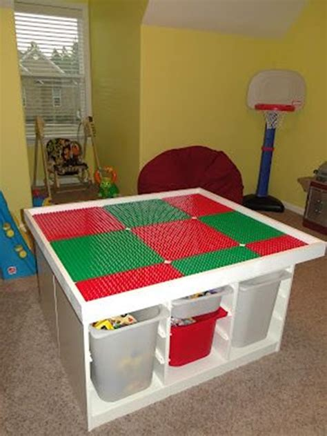 Lego Table For by Stunning Lego Table Designs For Your Playroom Interior Design