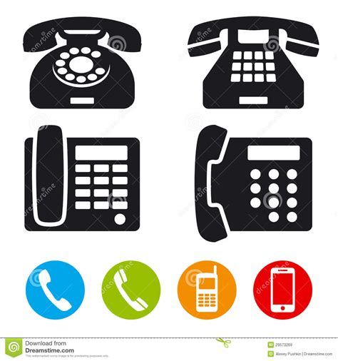 v stock images royalty free images vectors phone vector icons stock vector illustration of different 29573269