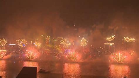 new year 2018 in hong kong happy new year 2018 hong kong harbor amazing