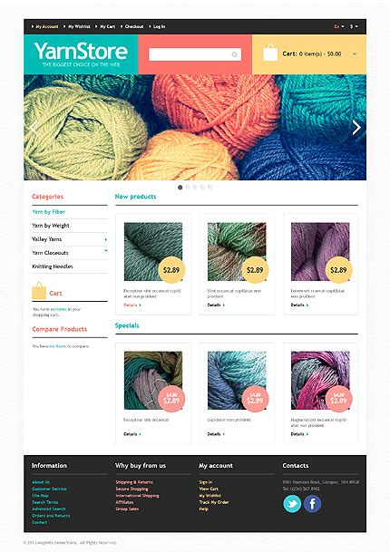 Wonderful Hobbies Crafts Website Templates Entheos Magento Website Templates