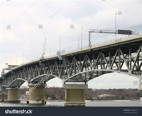 swing span bridge swing span bridge over york river stock photo 47329513