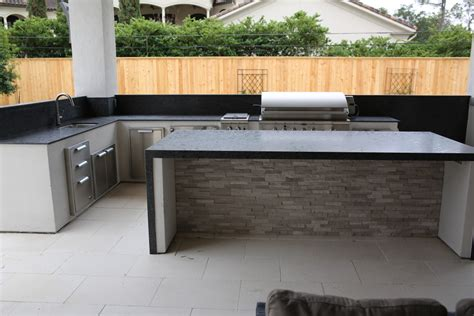 Custom Granite Summer Kitchen Custom Granite