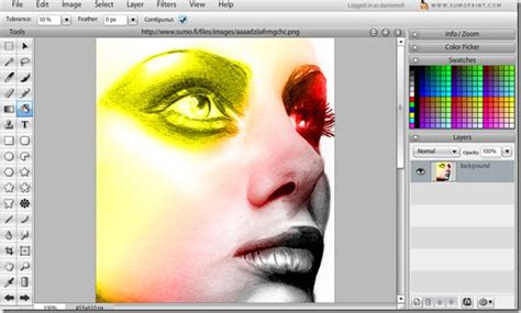 Sumo Paint Online Image Editor Paint Free