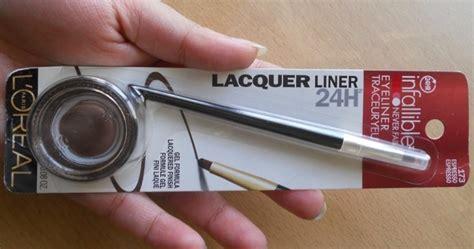 Harga L Oreal Infallible Gel Eyeliner l oreal infallible lacquer liner 24hr gel eyeliner