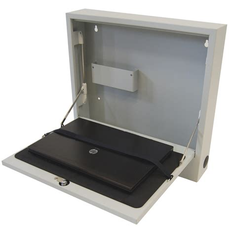 notebook wandschrank laptop safe deluxe