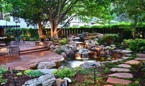 low maintenance backyard design small backyard ponds low maintenance back yard