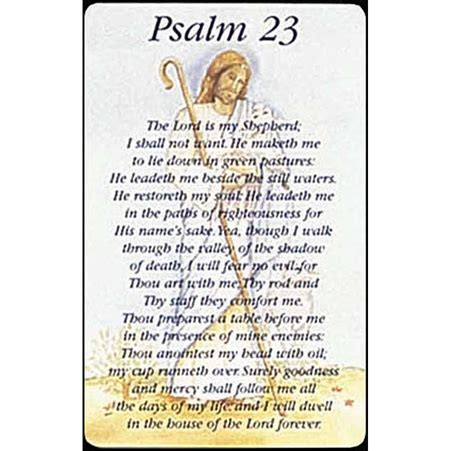 dicksons gifts psalm 23 pocket card
