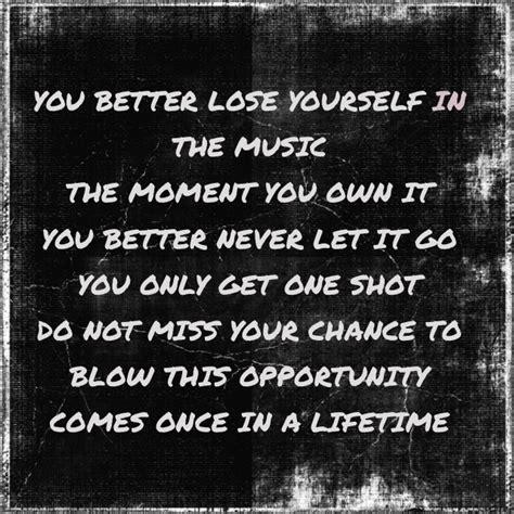 eminem you better never let it go eminem lose yourself clean