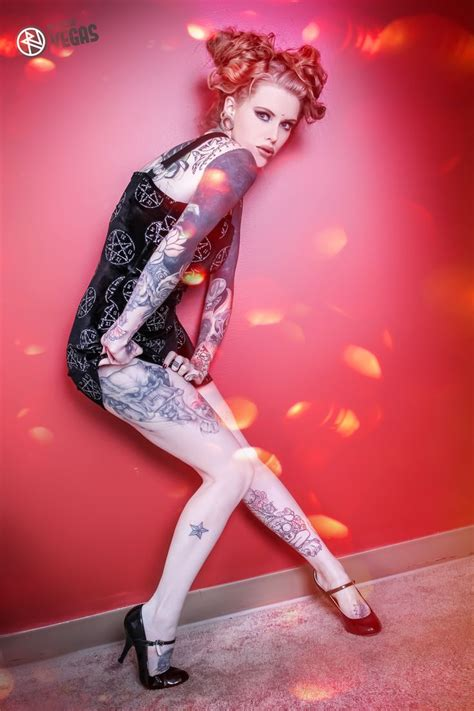 tattoo d lifestyle magazine model feature maegan machine