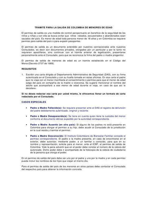carta de autorizacion municipal 1 1 requisitos autorizacion salida