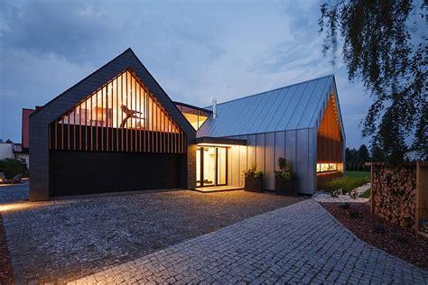 barns house inspiring contemporary home  poland
