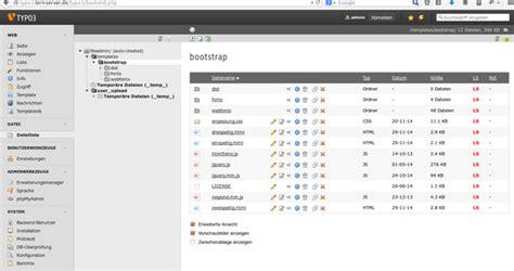 Template Vorlage Typo3 seitentemplate mit typo3 6 2 debacher wiki
