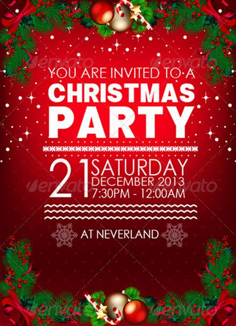 sample christmas party invitation merry christmas and happy new