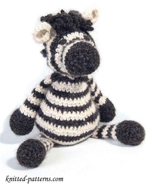 free knitting pattern zebra toy zebra toy free crochet pattern