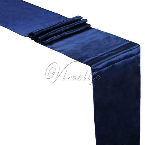 Navy Blue Table L Popular Navy Blue Table Runners Buy Cheap Navy Blue Table Runners Lots From China Navy Blue