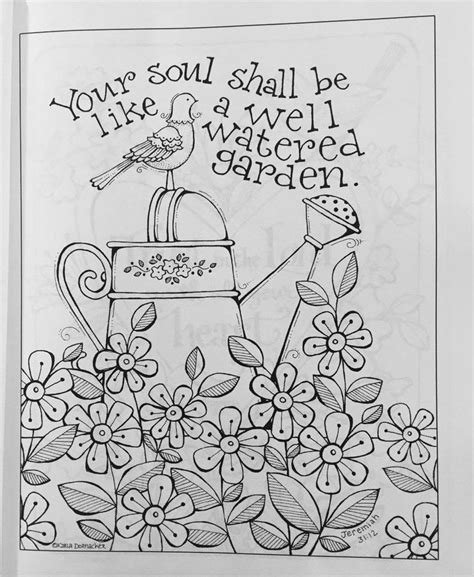 simple blessings coloring designs to encourage your