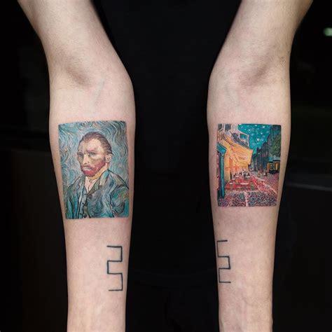 vincent van gogh tattoo vincent gogh design by evakrbdk