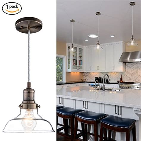 clear glass pendant lights for kitchen island 2018 donglaimei mini vintage clear glass pendant light edison industrial design hanging fixture