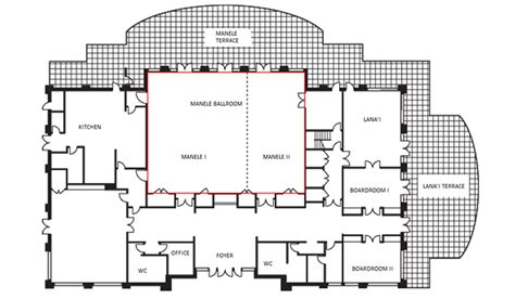 conference floor plan lanai event venues meeting space four seasons resort lanai