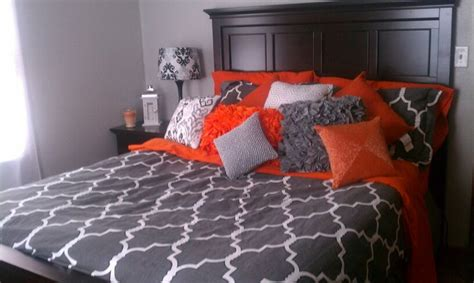orange and grey bedroom grey blue orange bedroom www imgkid com the image kid