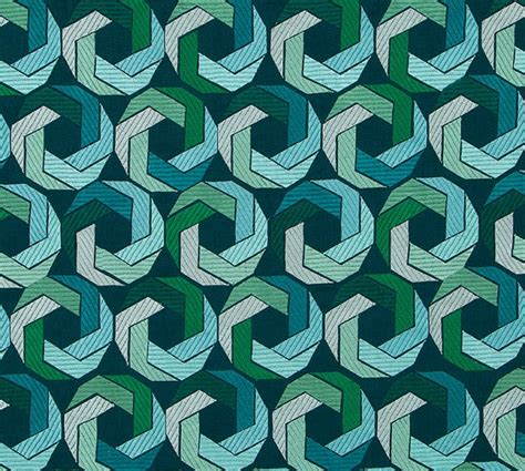 Modern Upholstery Fabric by Teal Turquoise Upholstery Fabric Modern Blue Green Geometric