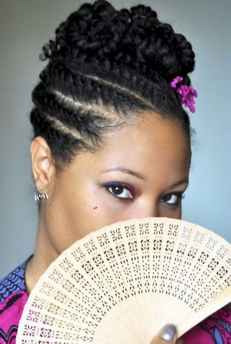 cornrow braids hairstyles for black women black hair in a bun style 2013 newhairstylesformen2014 com
