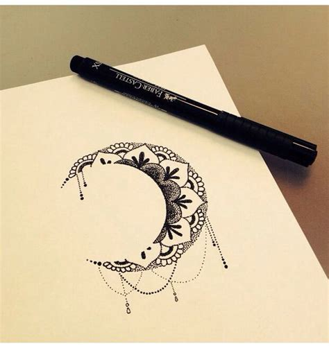 the 25 best moon mandala ideas on pinterest