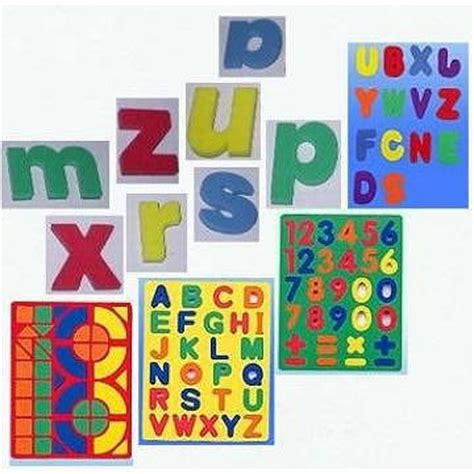 taiwan fun foam magnetic letters and numbers | mathemetics