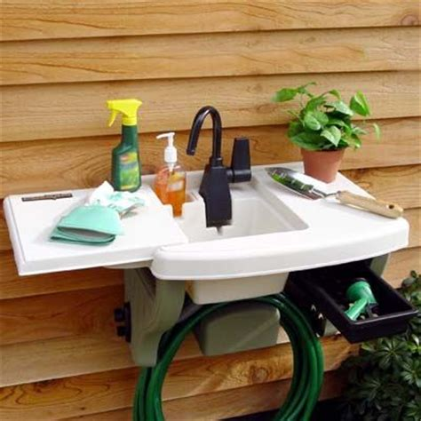 backyard gear water station plus outdoor sink outdoor sink make it yourself pinterest