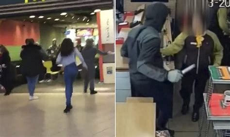 haircut deals romford romford thug brandishes a hunting knife in mcdonald s