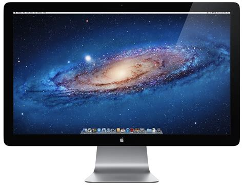 apple monitor apple leaks thunderbolt equipped led display on their