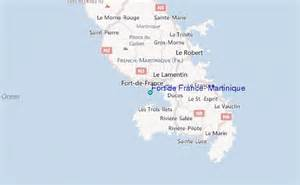 Fort de france martinique tide station location guide